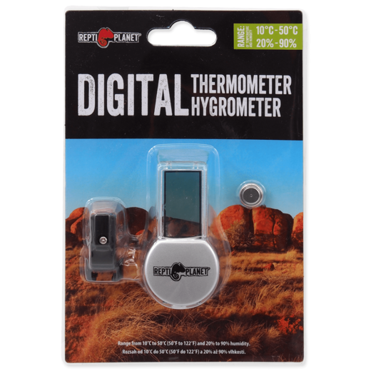 Repti Planet - Digital Thermo- / Hygrometer