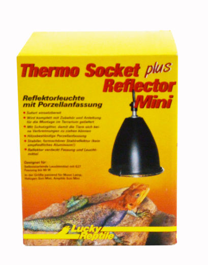 Lucky Reptile - Thermo Socket plus Reflector, mini