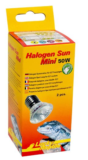 Lucky Reptile - Halogen Sun Mini 50W (2-pack)