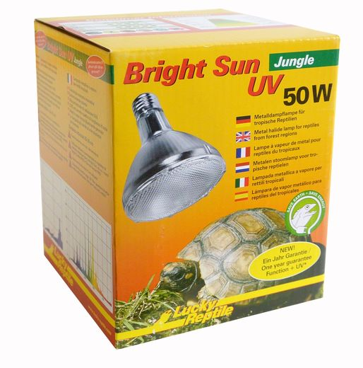 Lucky Reptile - Bright Sun UV Jungle 50W