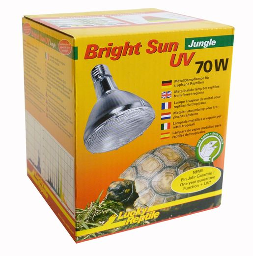 Lucky Reptile - Bright Sun UV Jungle 70W