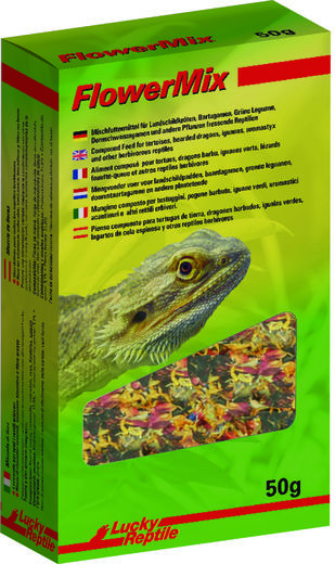 Lucky Reptile - Flower Mix 50g