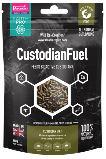 Arcadia - EarthPro Custodian Fuel 80g