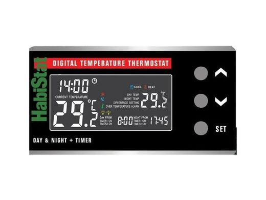 HabiStat - Digital Temperature Thermostat, D&N + Timer