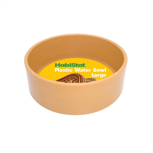 Habistat - Round Plastic Water Bowl, Large