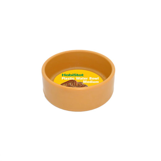 Habistat - Round Plastic Water Bowl, Medium
