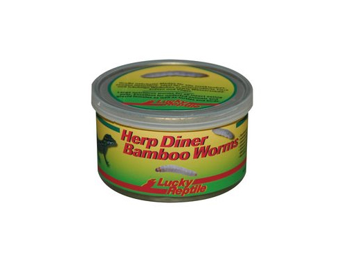 Lucky Reptile - Herp Diner Bamboo Worms 35g