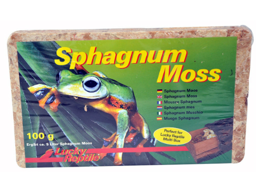 Lucky Reptile - Sphagnum Moss 100g
