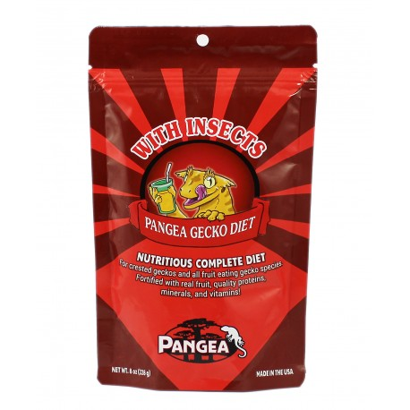 Pangea - Gecko Diet With Insects 56g