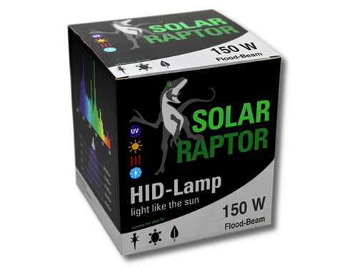 Solar Raptor - HID-Lamp 150W Flood