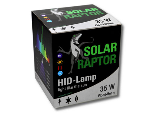 Solar Raptor - HID-Lamp 35W Flood