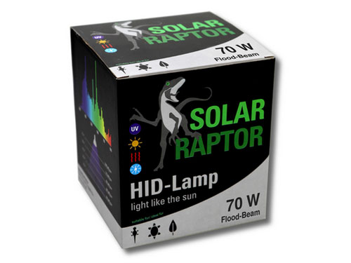 Solar Raptor - HID-Lamp 70W Flood